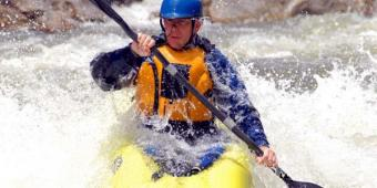 Whitewater & touring Kayak Rental