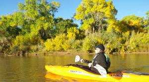 Rio Grande Bosque Kayak Tours, Albuquerque, New Mexico
