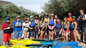 Rio Grande Bosque Kayak Tours, Albuquerque New Mexico
