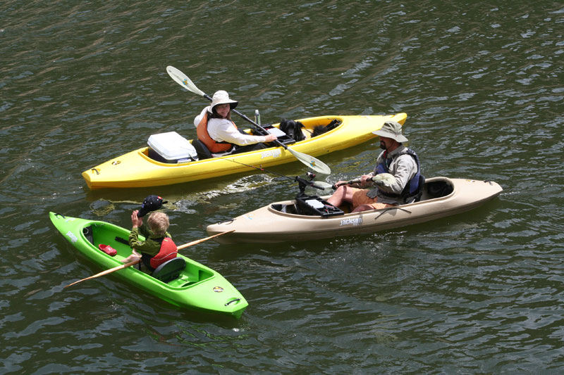 Recreational kayaking in New Mexico